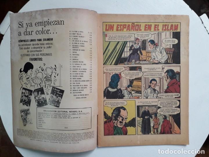 Tebeos: Grandes Viajes n° 40 - original editorial Novaro - Foto 2 - 146738738