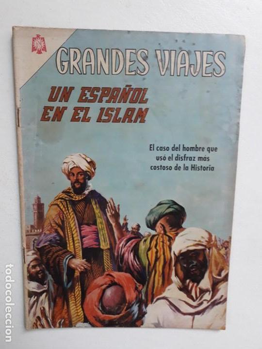 GRANDES VIAJES N° 40 - ORIGINAL EDITORIAL NOVARO (Tebeos y Comics - Novaro - Grandes Viajes)