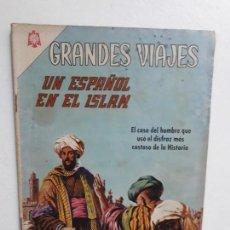 Tebeos: GRANDES VIAJES N° 40 - ORIGINAL EDITORIAL NOVARO. Lote 146738738