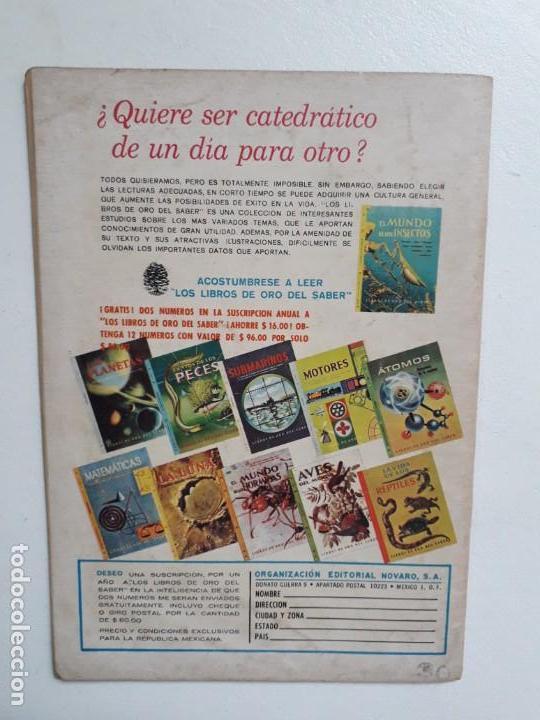Tebeos: Grandes Viajes n° 38 - original editorial Novaro - Foto 3 - 146738922