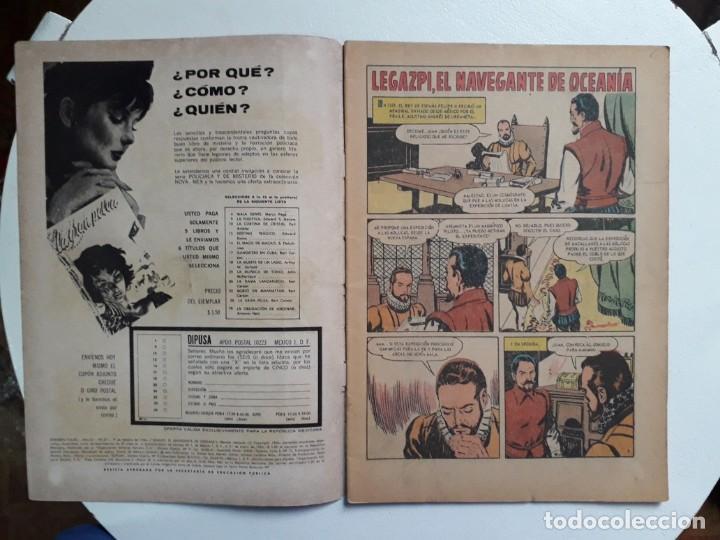 Tebeos: Grandes Viajes n° 37 - original editorial Novaro - Foto 2 - 146739062