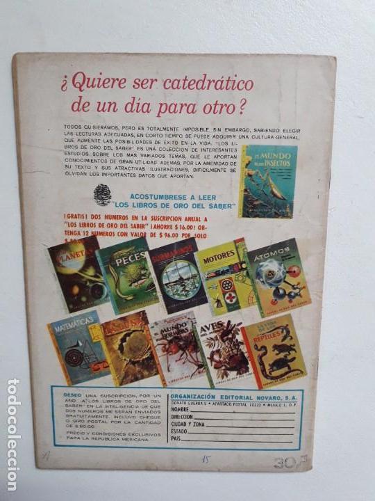 Tebeos: Grandes Viajes n° 37 - original editorial Novaro - Foto 3 - 146739062