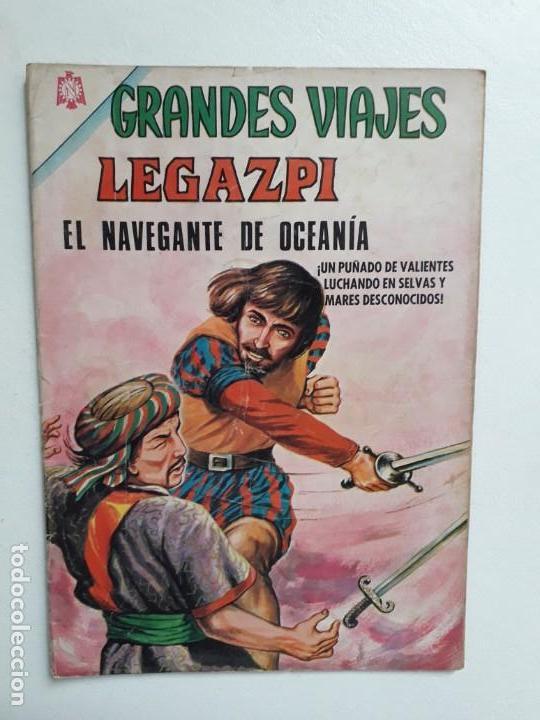 GRANDES VIAJES N° 37 - ORIGINAL EDITORIAL NOVARO (Tebeos y Comics - Novaro - Grandes Viajes)