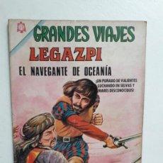 Tebeos: GRANDES VIAJES N° 37 - ORIGINAL EDITORIAL NOVARO. Lote 146739062