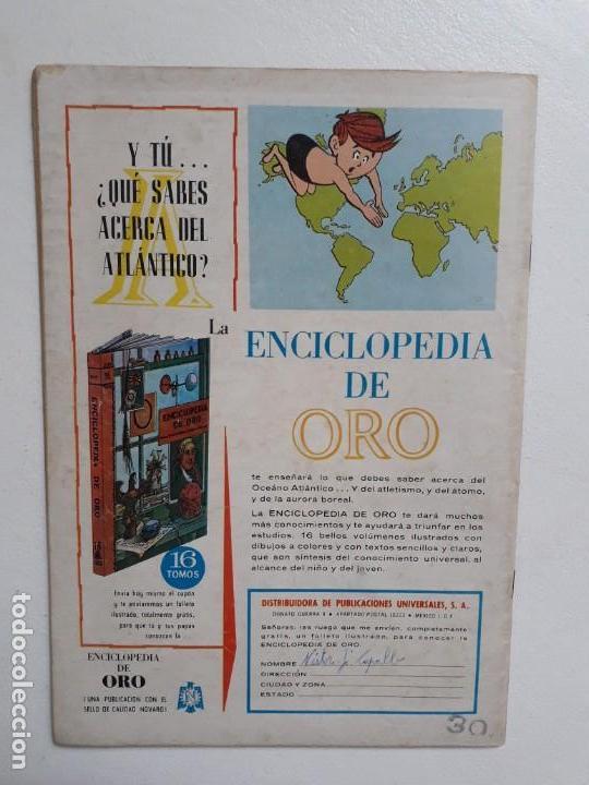 Tebeos: Grandes Viajes n° 36 - original editorial Novaro - Foto 3 - 146739214
