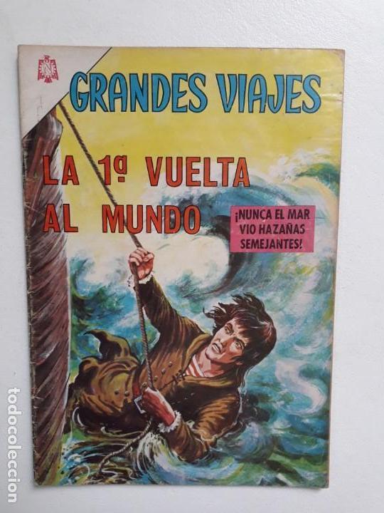 GRANDES VIAJES N° 36 - ORIGINAL EDITORIAL NOVARO (Tebeos y Comics - Novaro - Grandes Viajes)