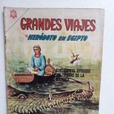 Tebeos: GRANDES VIAJES N° 33 - ORIGINAL EDITORIAL NOVARO. Lote 146739394