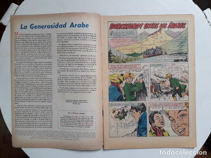 Tebeos: Grandes Viajes n° 6 - original editorial Novaro - Foto 2 - 146739558
