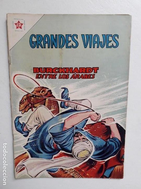 GRANDES VIAJES N° 6 - ORIGINAL EDITORIAL NOVARO (Tebeos y Comics - Novaro - Grandes Viajes)