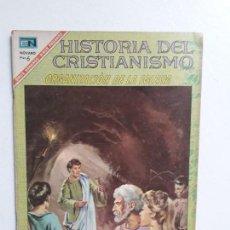 Tebeos: HISTORIAS DEL CRISTIANISMO N° 12 - ORIGINAL EDITORIAL NOVARO. Lote 146740122