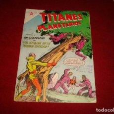 Tebeos: TITANES PLANETARIOS Nº 90 NOVARO 1960. Lote 146794990