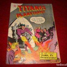 Tebeos: TITANES PLANETARIOS Nº 78 NOVARO 1959. Lote 146795926