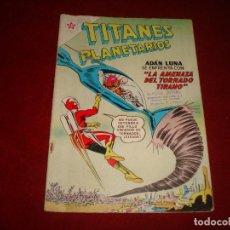 Tebeos: TITANES PLANETARIOS Nº 118 NOVARO 1961. Lote 146796334