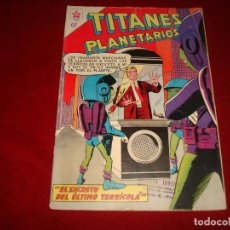 Tebeos: TITANES PLANETARIOS Nº 97 NOVARO 1960 . Lote 146796946