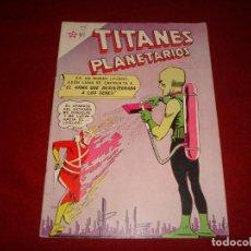 Tebeos: TITANES PLANETARIOS Nº 124 NOVARO 1961 . Lote 146797266