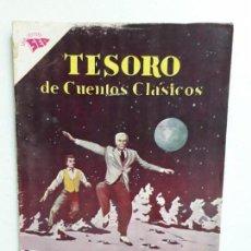 Tebeos: TESORO DE CUENTOS CLÁSICOS N° 50 - LOS PRIMEROS HOMBRES EN LA LUNA - ORIGINAL EDITORIAL NOVARO. Lote 146977182