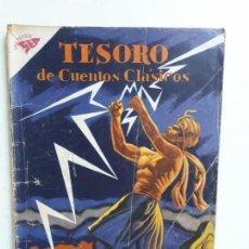 Tebeos: TESORO DE CUENTOS CLÁSICOS N° 32 - LA LUCHA CON EL RELÁMPAGO - ORIGINAL EDITORIAL NOVARO. Lote 146977570