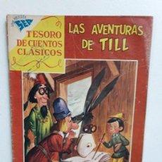 Tebeos: TESORO DE CUENTOS CLÁSICOS N° 19 - LAS AVENTURAS DE TILL - ORIGINAL EDITORIAL NOVARO. Lote 146977774