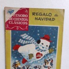 Tebeos: TESORO DE CUENTOS CLÁSICOS N° 16 - REGALO DE NAVIDAD - ORIGINAL EDITORIAL NOVARO. Lote 146978102