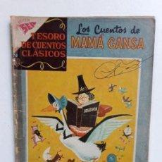 Tebeos: TESORO DE CUENTOS CLÁSICOS N° 12 - LOS CUENTOS DE MAMÁ GANSA - ORIGINAL EDITORIAL NOVARO. Lote 146978386
