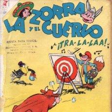 Tebeos: LA ZORRA Y EL CUERVO Nº 61 - 1957. Lote 147070754