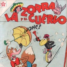 Tebeos: LA ZORRA Y EL CUERVO Nº 62 - 1957. Lote 147070850