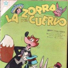 Tebeos: LA ZORRA Y EL CUERVO Nº 64 - 1957. Lote 147070986