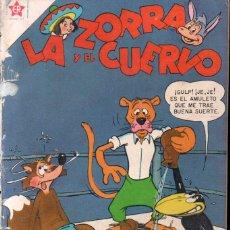 Tebeos: LA ZORRA Y EL CUERVO Nº 65 - 1957. Lote 147071478