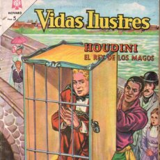 Tebeos: HOUDINI EL REY DE LOS MAGOS - VIDAS ILUSTRES Nº 104 - 1964. Lote 147072042