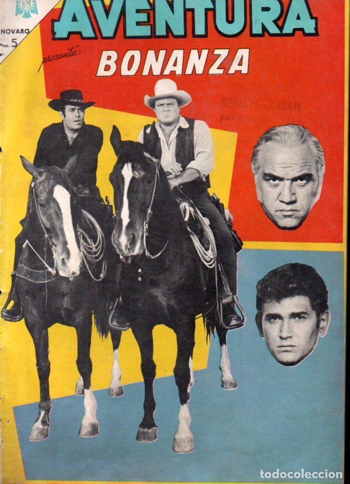 BONANZA - AVENTURA Nº 381 - 1965 (Tebeos y Comics - Novaro - Aventura)
