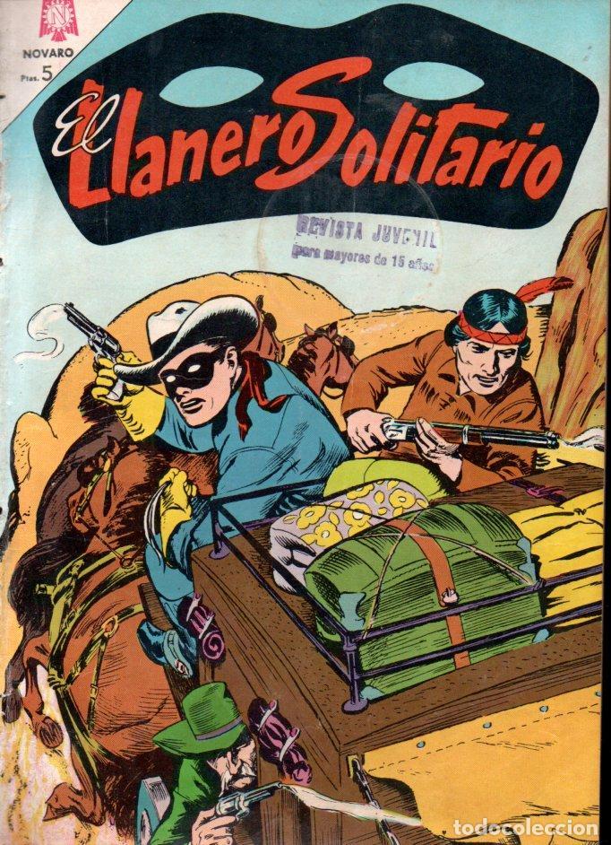 EL LLANERO SOLITARIO Nº 146 - 1965 (Tebeos y Comics - Novaro - El Llanero Solitario)