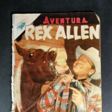 Tebeos: ORIGINAL NOVARO - AVENTURA 26 AÑO 1955- REX ALLEN. Lote 147169106
