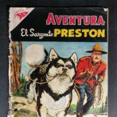 Tebeos: ORIGINAL NOVARO - AVENTURA 23 AÑO 1955 - EL SARGENTO PRESTON. Lote 147169254