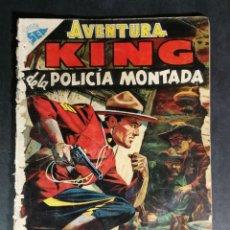 Tebeos: ORIGINAL NOVARO - AVENTURA 17 AÑO 1955 - KING DE LA POLICIA MONTADA. Lote 147169742