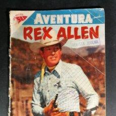 Tebeos: ORIGINAL NOVARO - AVENTURA 87 AÑO 1958 - REX ALLEN. Lote 147169934