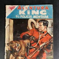 Tebeos: ORIGINAL NOVARO - AVENTURA 86 AÑO 1958 - KING DE LA POLICIA MONTADA. Lote 147170086