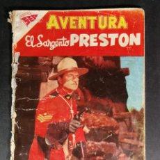 Tebeos: ORIGINAL NOVARO - AVENTURA 84 AÑO 1958 - EL SARGENTO PRESTON. Lote 147170470