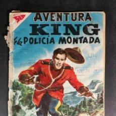 Livros de Banda Desenhada: ORIGINAL NOVARO - AVENTURA 82 AÑO 1958 - KING DE LA POLICIA MONTADA. Lote 147170630