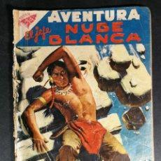 Tebeos: ORIGINAL NOVARO - AVENTURA 78 AÑO 1958 - EL JEFE DE LA NUBE BLANCA. Lote 147171146