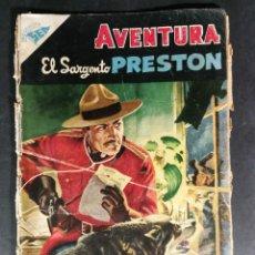 Tebeos: ORIGINAL NOVARO - AVENTURA 31 AÑO 1956 - EL SAGERNTO PRESTON. Lote 147171570