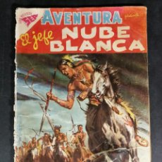 Tebeos: ORIGINAL NOVARO - AVENTURA 92 AÑO 1958 - EL JEFE NUBE BLANCA. Lote 147172046
