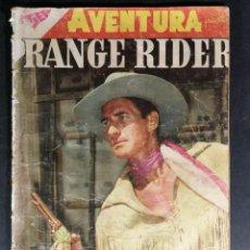 Tebeos: ORIGINAL NOVARO - AVENTURA 91 AÑO 1958 - RANGE RIDER. Lote 147172126