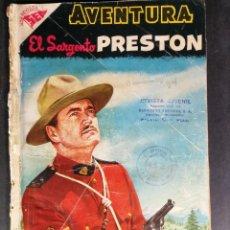 Tebeos: ORIGINAL NOVARO - AVENTURA 66 AÑO 1957 - EL SARGENTO PRESTON. Lote 147172398