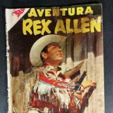 Tebeos: ORIGINAL NOVARO - AVENTURA 75 AÑO 1958 - REX ALLEN. Lote 147172638