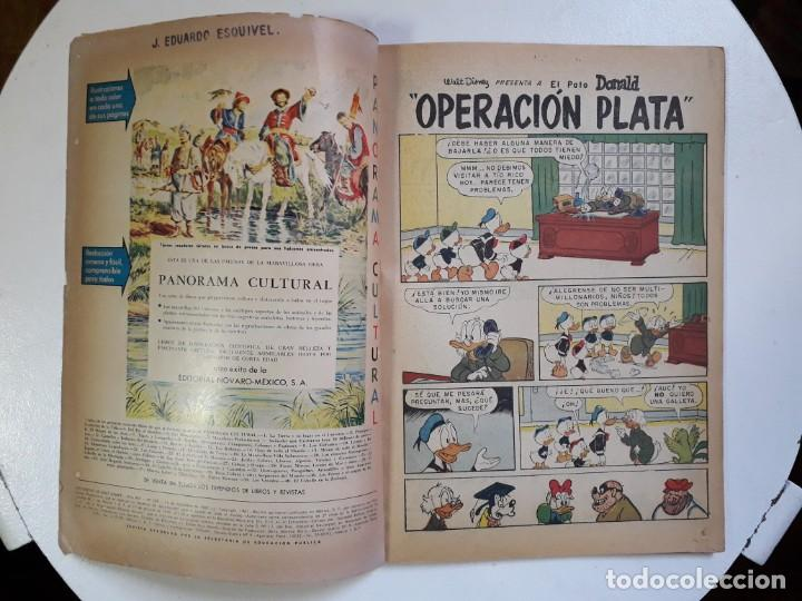 Tebeos: Historietas de Walt Disney n° 238 - original editorial Novaro - Foto 2 - 147282622