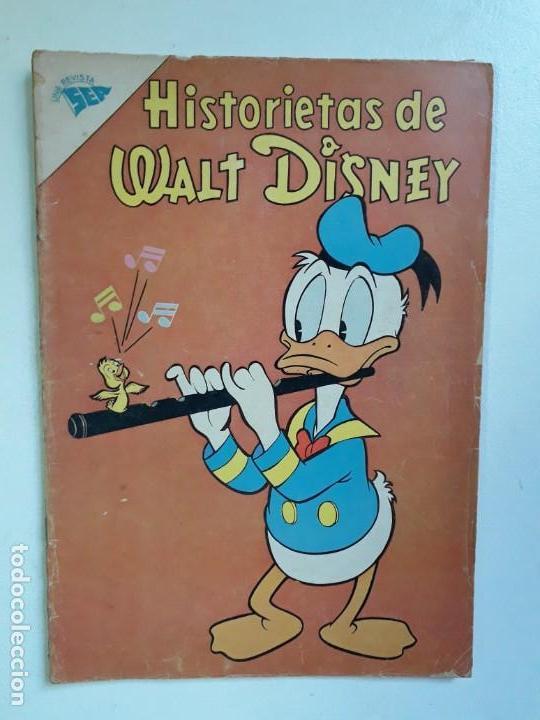 HISTORIETAS DE WALT DISNEY N° 238 - ORIGINAL EDITORIAL NOVARO (Tebeos y Comics - Novaro - Otros)