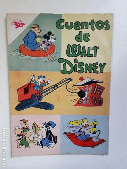 CUENTOS DE WALT DISNEY N° 306 - ORIGINAL EDITORIAL NOVARO (Tebeos y Comics - Novaro - Otros)