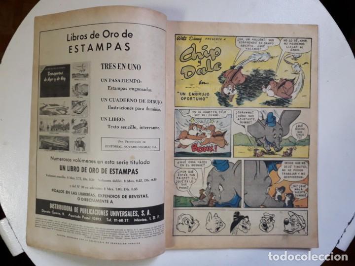 Tebeos: Cuentos de Walt Disney n° 245 - original editorial Novaro - Foto 2 - 147283322