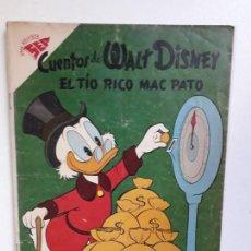 Tebeos: CUENTOS DE WALT DISNEY N° 178 - EL TÍO RICO MAC PATO - ORIGINAL EDITORIAL NOVARO. Lote 147286974