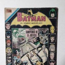 Tebeos: BATMAN N° 611 - CAMPEONES DE LA JUSTICIA - ORIGINAL EDITORIAL NOVARO. Lote 147426114